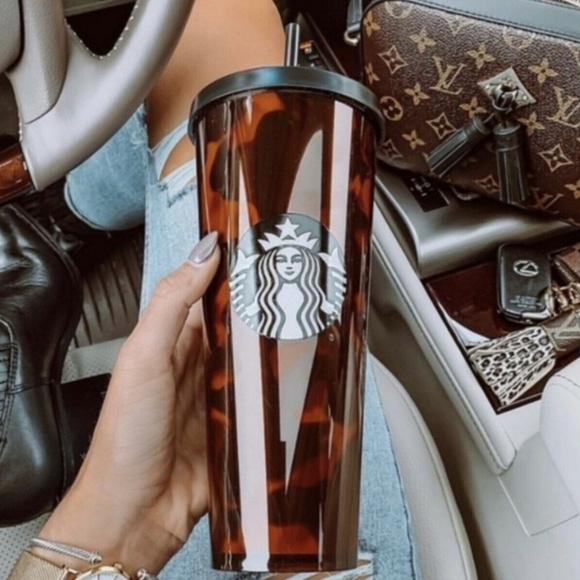 Starbucks Other - NEW Starbucks 2019 Fall Tortoise 24 Ounce Tumbler
